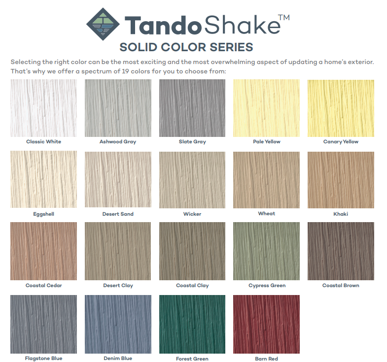 Tando Vinyl Shake Amp Shingle