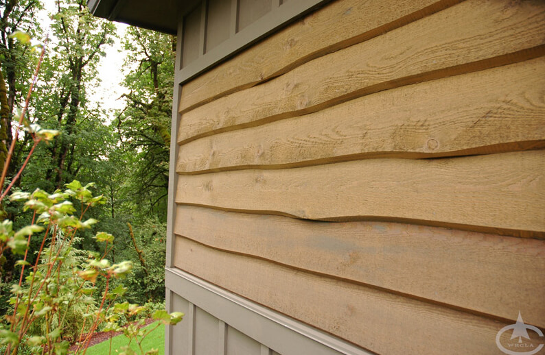 Cedar Wave Edge Siding