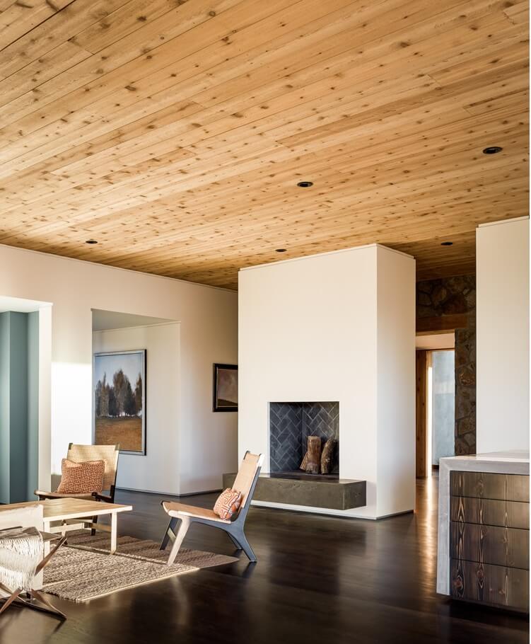 Cedar Interior Walls Paulbabbitt Com
