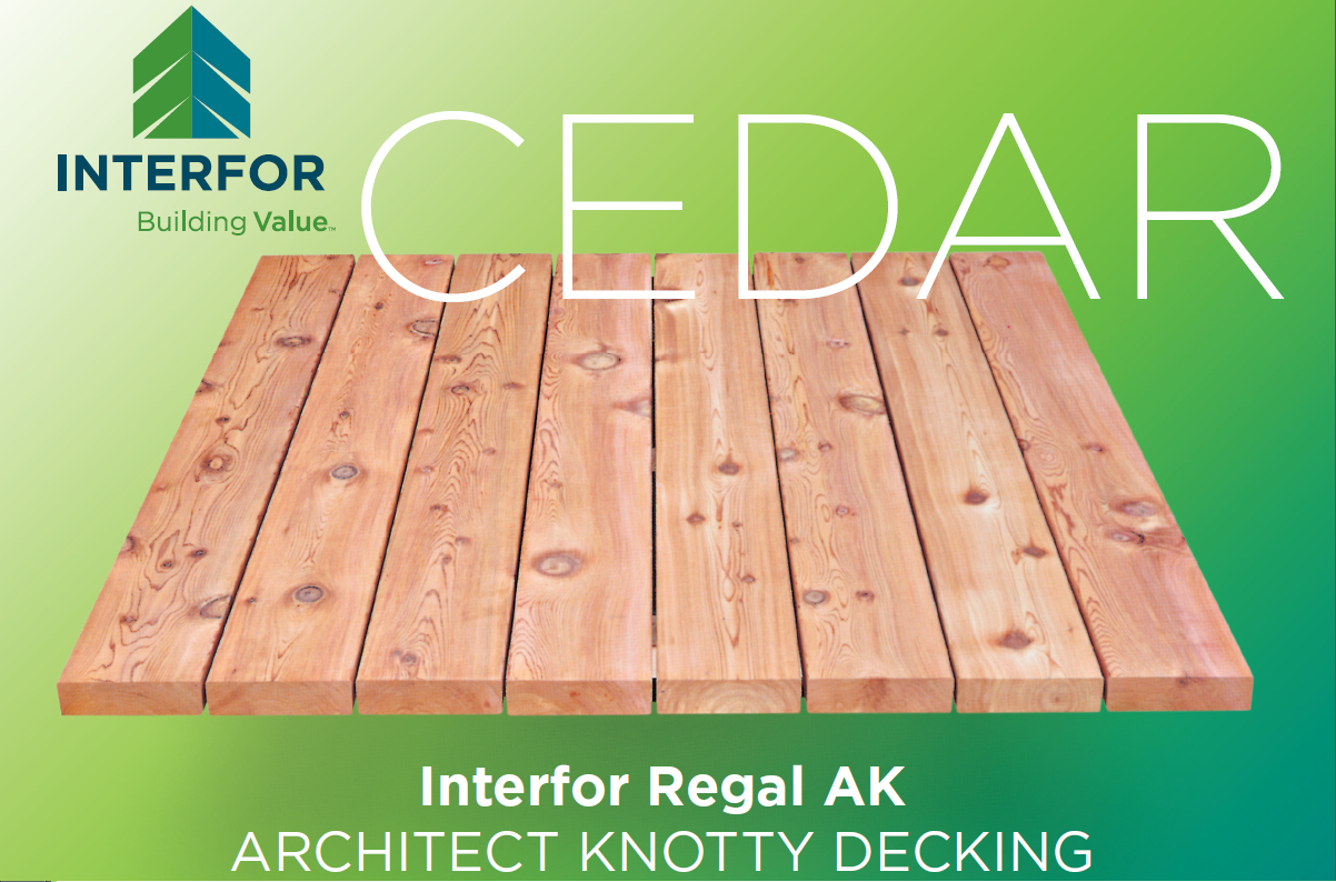 Western Red Cedar Decking