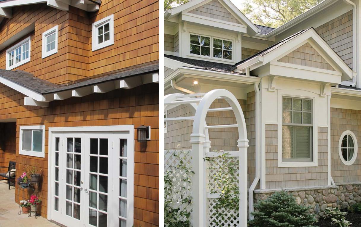 Cedar Shingle Panel Siding