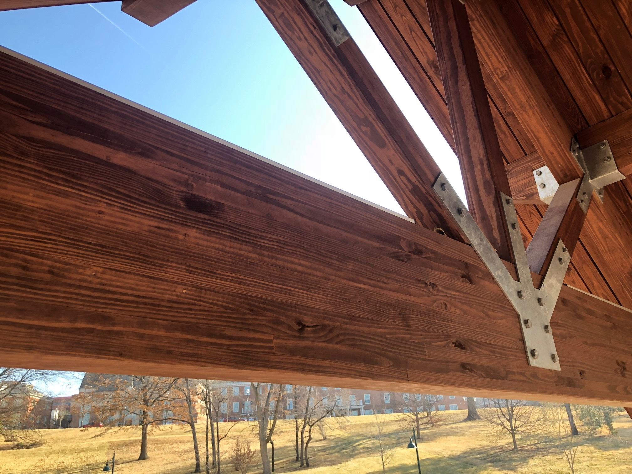 Treated Glulam Beams