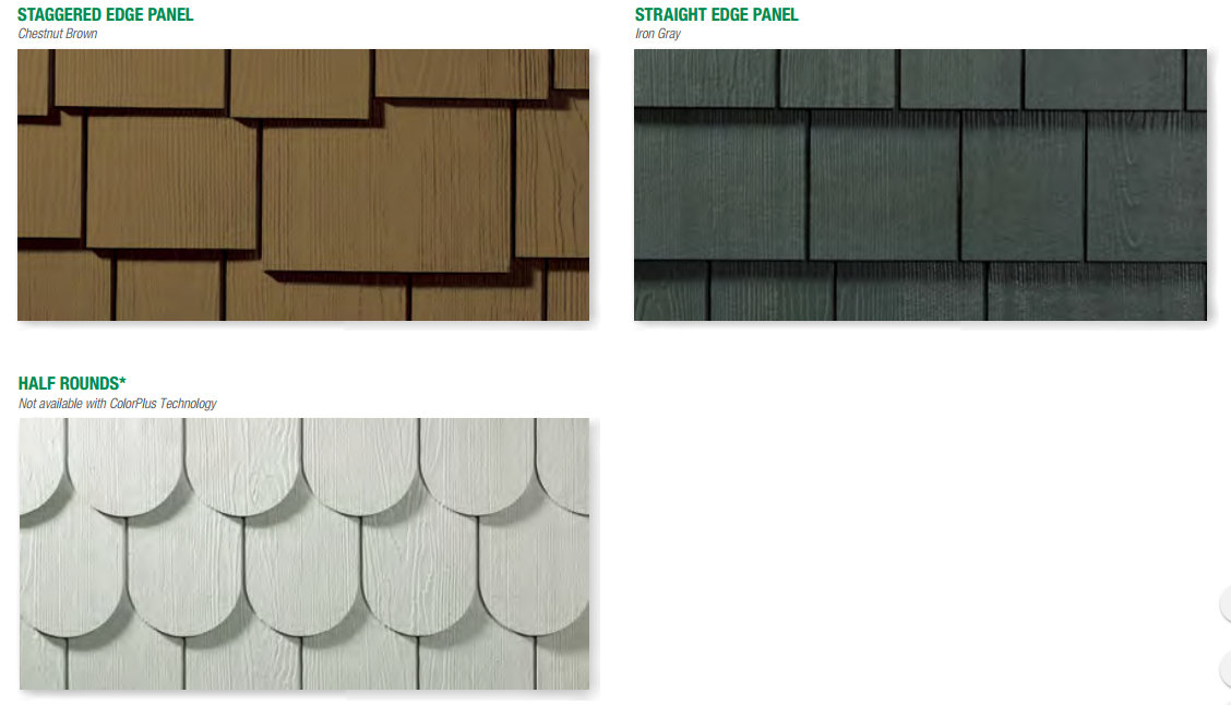 James Hardie Panel Amp Shingle Siding