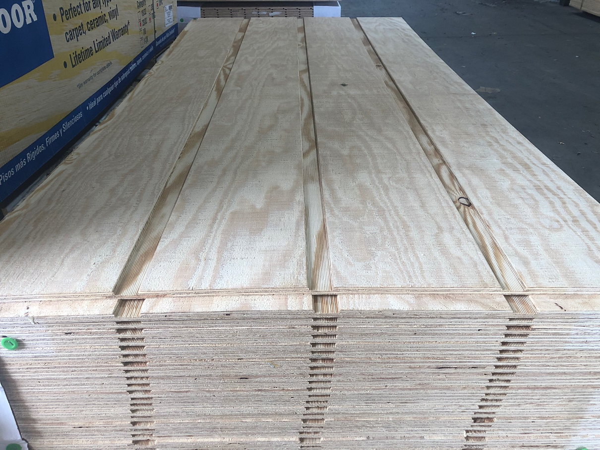 Yellow Pine Plywood Siding