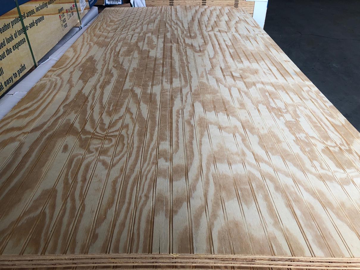 Yellow Pine Plywood Siding
