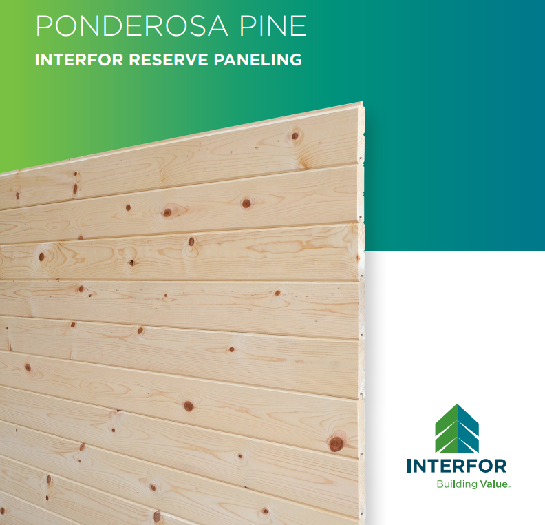 Interfor Reserve Paneling