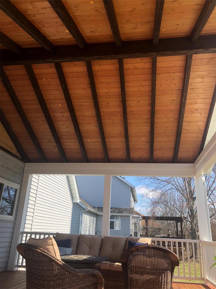 Center Match Roof Decking
