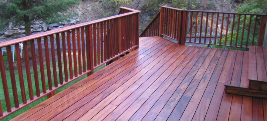 clear western red cedar decking tiger deck